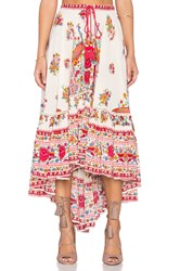 Spell And The Gypsy Collective Hotel Paradiso Castaway Skirt Ivory