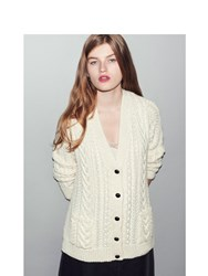Daughter The Aran Cardigan Neutral