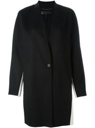 Rag And Bone Colour Block Short Coat Black