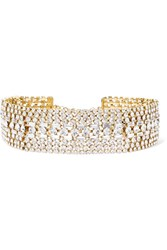 Rosantica Luci Gold Tone Crystal Choker One Size