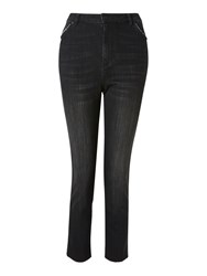 And Or Sierra High Rise Straight Jeans Azurite
