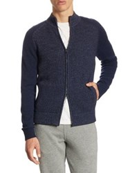 Loro Piana Coarsehair Cashmere Jacket Astral Night Royal Blue