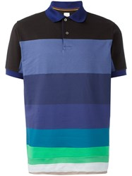 Paul Smith Horizontal Stripe Polo Shirt