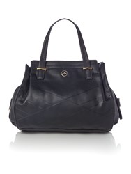 Nica Ava Black Medium Tote Bag Black