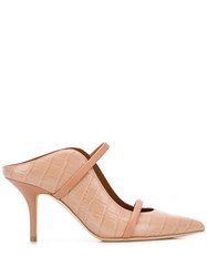 Malone Souliers Maureen Embossed Effect Pumps 60