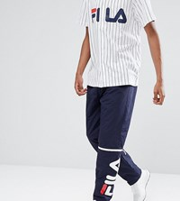Fila Black Line Ski Joggers With Logo Navy