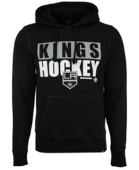 47 Brand '47 Men's Los Angeles Kings Knockaround Headline Pullover Hoodie Black
