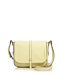Annabel Ingall Allisyn Leather Crossbody 100 Exclusive Pale Yellow Gold