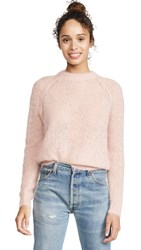 Demy Lee Demylee Chelsea Mohair Sweater Baby Pink
