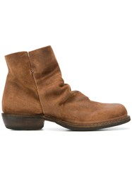 Fiorentini Baker Chill Ankle Boots Brown