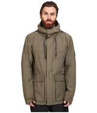 686 Parklan Field Insulated Jacket Olive Heather Men's Coat