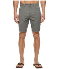 Royal Robbins Alpine Road Shorts Pewter