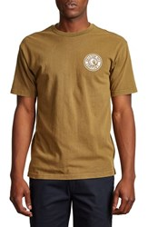 Brixton Rival Ii Graphic T Shirt Olive