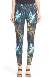 Ted Baker 'Twilight Floral' Print Leggings Black