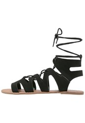 Dorothy Perkins Sage Sandals Black