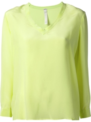 Pinko V Neck Sweater Green
