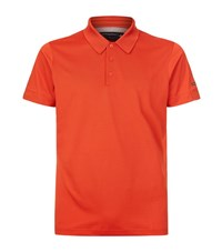 Porsche Design Pique Polo Shirt Male Red