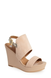 Bp 'Lena' Wedge Sandal Light Taupe Taupe
