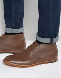 Frank Wright Strachan Chukka Boots Brown Leather Brown