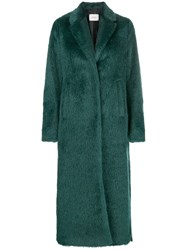 Dorothee Schumacher Single Breasted Coat Green