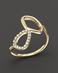 Kc Designs Diamond Geometric Ring In 14K Yellow Gold
