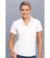 Merrell Claire Button Up White Women's Long Sleeve Button Up