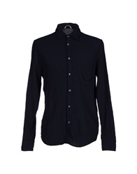 Novemb3r Shirts Dark Blue