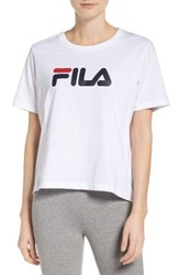 Fila Women's Miss Eagle Logo Tee White