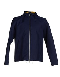 Hardy Amies Coats And Jackets Jackets Men Dark Blue