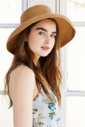 Urban Outfitters Beekeeper Straw Hat Neutral