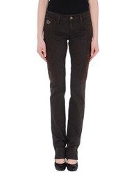 Chiribiri Trousers Casual Trousers Women Dark Blue