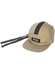 Mostly Heard Rarely Seen Rat Tail Contrast Zip Hat Green