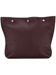 Marni Large Pouch Clutch Bag Red