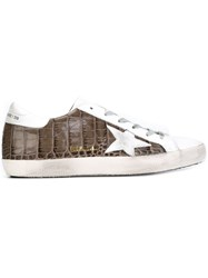 Golden Goose Deluxe Brand 'Super Star' Sneakers Grey