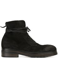 Marsell Lace Up Boots Black