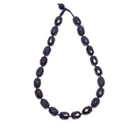 Lola Rose Vintage Botanics Barrel Necklace Blue Blue