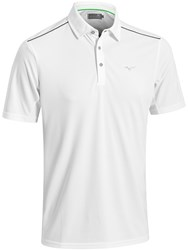 Mizuno Plain Polo White