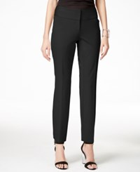 Alfani Wide Band Slim Ankle Pants Only At Macy's Black
