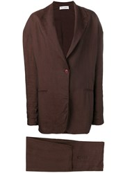 Dolce And Gabbana Vintage 1990'S Two Piece Suit Brown