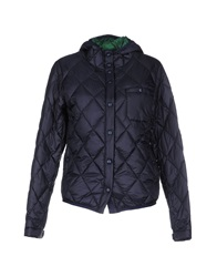 Swiss Chriss Down Jackets Dark Blue