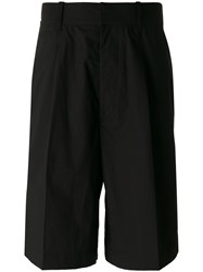 Christophe Lemaire Long Shorts Black