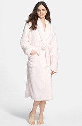 Women's Giraffe At Home Stretch Chenille Robe Pink