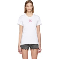 Off White Painted Arrows T Shirt