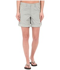 The North Face Horizon 2.0 Roll Up Shorts Moonstruck Grey Women's Shorts Beige