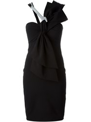 Moschino Wrench Cocktail Dress Black