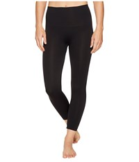 Spanx Cropped Look At Me Now Seamless Leggings Very Black Hose
