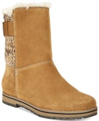 White Mountain Polar Air Cold Weather Boots Women's Shoes Chestnut
