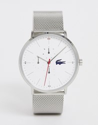 Lacoste Moon Multi Mesh Watch Silver