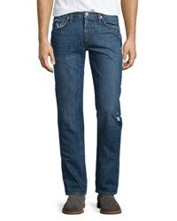 J Brand Tyler Destroyed Slim Fit Denim Jeans Destructed Gemma
