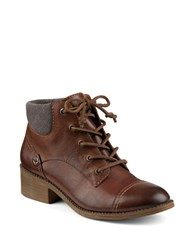 Sperry Juniper Quay Leather Ankle Boots Tan